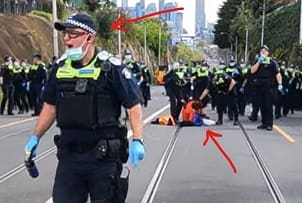 how to protest in Australia?